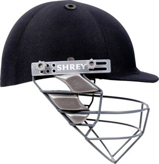 Shrey Match With Mild Steel Cricket Helmet (Medium)