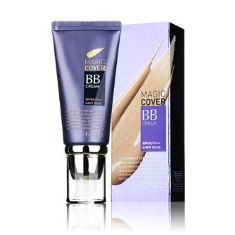 The Face Shop Face It Magic Cover BB Cream SPF 20 PA   (01 Light Beige)
