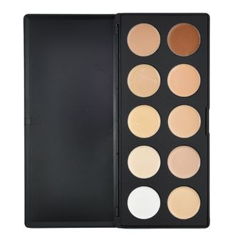 Beauties Factory Camouflage and Concealer 10 Color Palette (Cream Texture) (Starters 610)