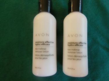 Avon Moisture Effective Eye Makeup Remover Lotion (Set of 2)