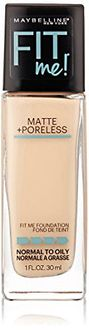 Maybelline Fit Me Matte Plus Poreless Foundation (Porcelain)