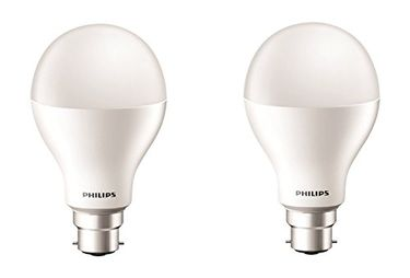 Philips 17W B22 2000L LED Bulb (Cool Day Light, Pack of 2)