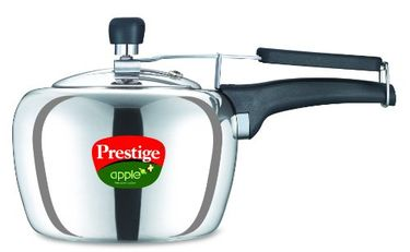 Prestige Apple Plus Aluminium 2 L Pressure Cooker (Induction Bottom,Inner Lid)