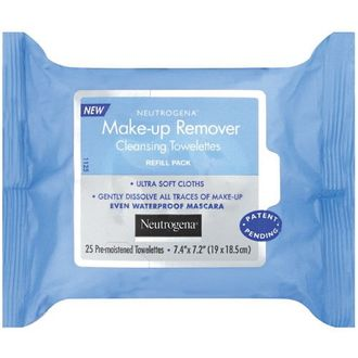 Neutrogena Makeup Remover Cleansing (Towelettes 25) Refill Pack