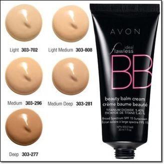 Avon Ideal Flawless Bb Beauty Balm Cream (Deep)