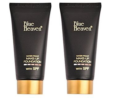 Blue Heaven Makeup Foundation (Tube) (Set of 2)