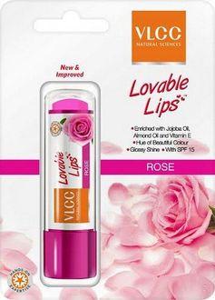 VLCC Lovable Lips Lip Balm (Rose)