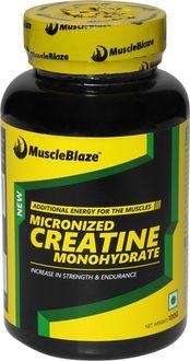 MuscleBlaze Creatine Unflavoured Supplement (100 Gm)