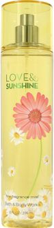 Bath & Body Works Love and Sunshine Body Mist (For Women)