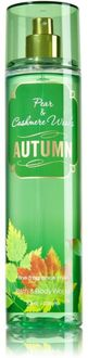 Bath & Body Works Pear and Cashmere Woods Autumn Body Mist