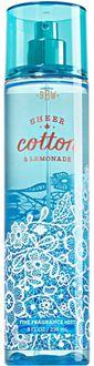 Bath & Body Works Sheer Cotton and Lemonade Body Mist