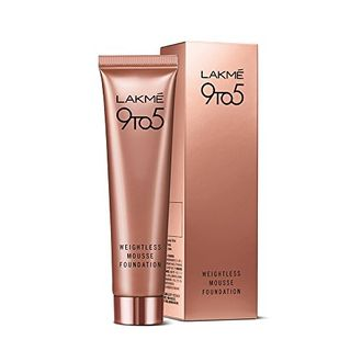 Lakme  9 to 5 Weightless Mousse Foundation (Beige Caramel)