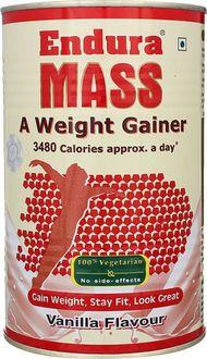 Endura Mass Weight Gainer (500 gm,Vanilla)