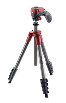 Manfrotto MKCOMPACTACN Compact Action Tripod