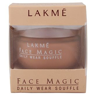 Lakme  Face Magic Daily Wear Souffle Foundation (Shell)