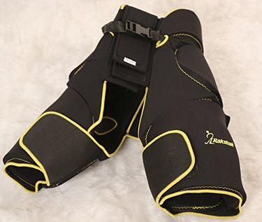 Rakshak Zig Zag Cooper Goalie Thigh Pads (Full Size)