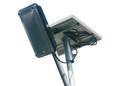 Infinite Solar 12W Solar LED Street Light (With Inbuilt Battery & 20W Solar Panel)