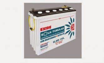 Exide C10 150AH Tubular Inverter Battery