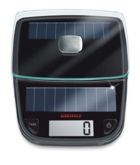 Leifheit Soehnle 66183 Easy Solar Kitchen Weighing Scale