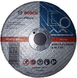 Bosch A 46 T BF 4 inches Cutting Disc (20 Pcs)