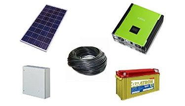 Rooftop Urja 3000W Solar Battery System (10-300Wp Solar PV Module, MPPT Charge Controller)