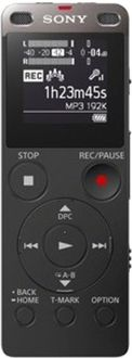 Sony ICD-UX560F/B 4GB Voice Recorder