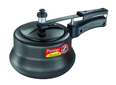 Prestige 20451 Nakshatra Plus Hard Anodised 3 L Pressure Cooker (Inner Lid)