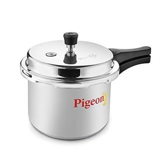 Pigeon 12007 Favourite Aluminium 3 L Pressure Cooker (Outer Lid)