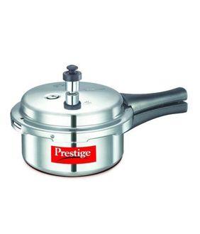 Prestige Popular Aluminium Cooker 2 L Pressure Cooker (Induction Based, Outer Lid)