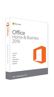 Microsoft Office Home & Business 2016 1Pc (for Windows)