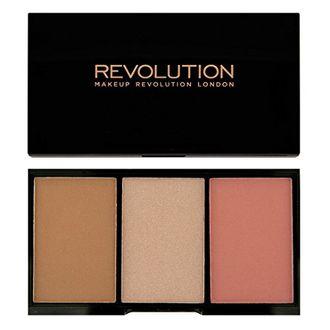 Makeup Revolution Iconic Blush Bronze and Brighten (Flush)