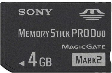 Sony PRO Duo MARK2 MS-MT4G 4GB Memory Card