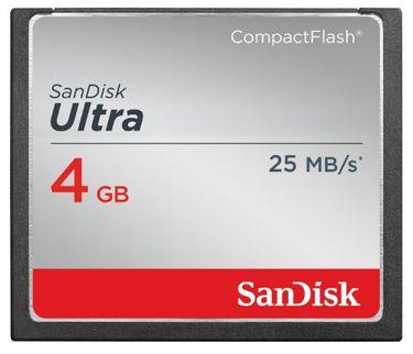 SanDisk Ultra 4GB CF Memory Card