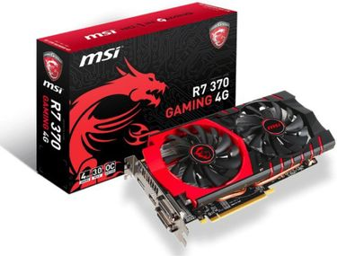 MSI (R7 370 GAMING 4G) 4GB DDR5 Graphic Card