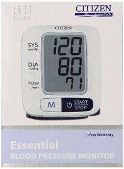 Citizen CH 650 Wrist Full Automatic BP Monitor