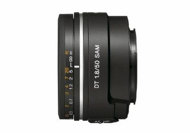 Sony DT 50mm f/1.8 Lens