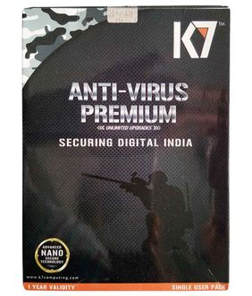 K7 Antivirus Premium 2016 1 PC 1 Year