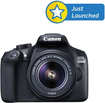 Canon EOS 1300D DSLR Camera (with EF S18-55 IS II Lens)