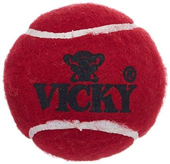 Vicky Heavy Tennis Cricket Ball (Pack of 6)