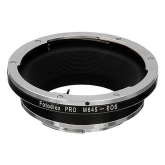 Fotodiox Pro Lens Mount Adapter (Mamiya 645 Lens to Canon EOS)