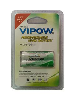 Vipow AAA Ni-MH 1.2v 1100mAh (Pack Of 1) Rechargeable Battery
