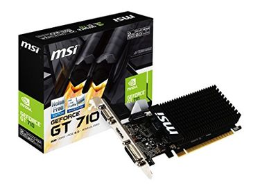 MSI Geforce GT 710 (GT-710-2GD3H-LP) 2GB DDR3 Graphics Card