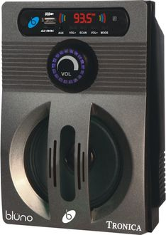 Tronica BLUNO Bluetooth FM Player With Speaker