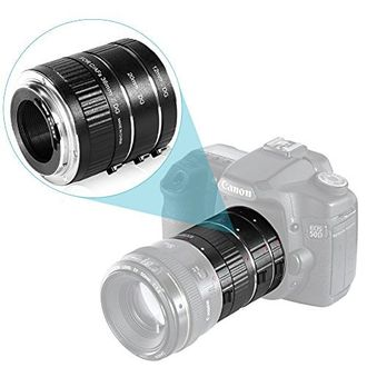Neewer 12-20-30mm Macro Automatic Extension Tube Set (For Canon EOS)