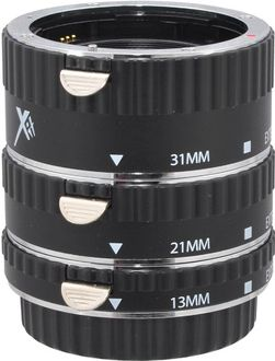 X-it XTETC Auto Focus Macro Extension Tube Set (13mm,21mm,31mm)(For Canon)