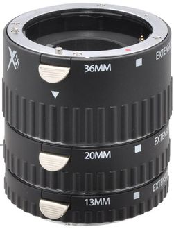 X-it XTETS Auto Focus Macro Extension Tube Set (13mm,20mm,36mm) (For Sony)
