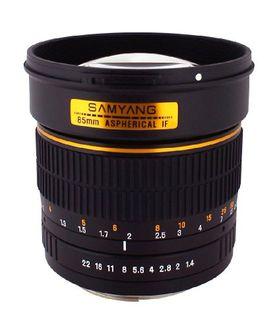 Samyang SY85MAE-N 85mm F/1.4 Prime Lens (For Nikon AE)