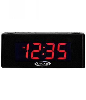 Oscar 2.0 Portable Desktop Bluetooth Speaker Clock Radio