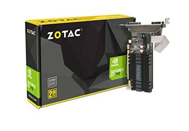 Zotac GeForce GT 710 (ZT-71302-20L) 2GB DDR3 Zone Edition Graphics Card