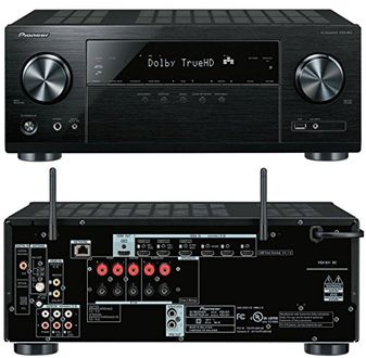Pioneer VSX-831 5.2 Channel Network AV Receiver